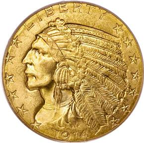five dollar gold coin