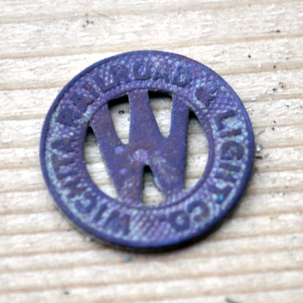 Wichita Railroad & Light Co. token