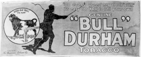 Bull Durham tobacco ad