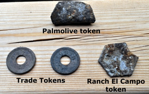 various old tokens