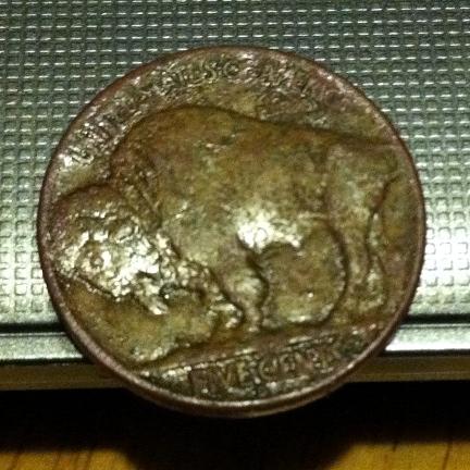 1936 buff, reverse